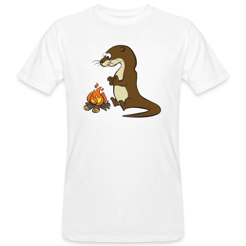 Song of the Paddle; Quentin campfire - Men's Organic T-Shirt