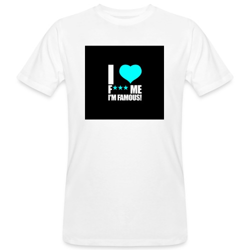 I Love FMIF Badge - T-shirt bio Homme