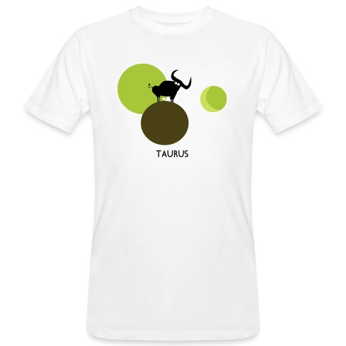 Unconventional zodiac :taurus - T-shirt ecologica da uomo