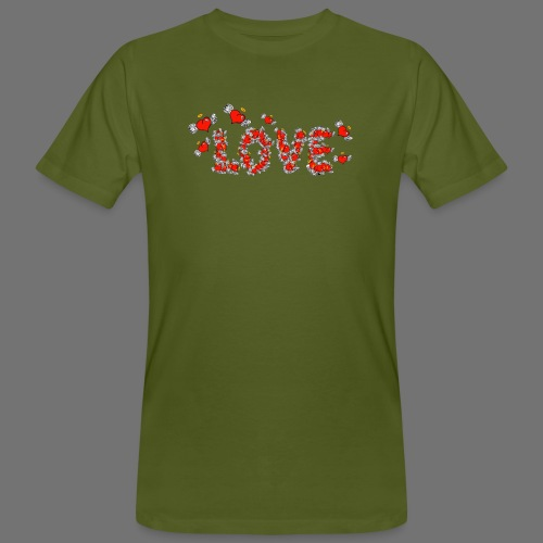 Flying Hearts LOVE - Men's Organic T-Shirt
