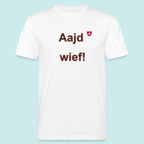 Aajd wief def b verti - Mannen Bio-T-shirt