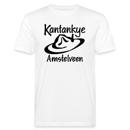 logo naam hoed amstelveen - Mannen Bio-T-shirt