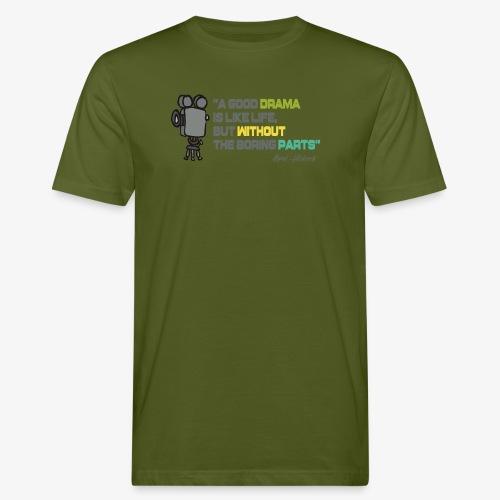 Pasión por el cine - Camiseta ecológica hombre