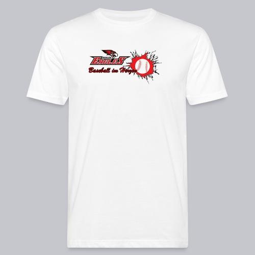 Baseball im Herzen - Männer Bio-T-Shirt