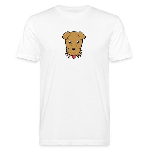 Shari the Airedale Terrier - Men's Organic T-Shirt