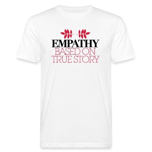 empathy story - Ekologiczna koszulka męska