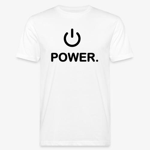 power - T-shirt bio Homme