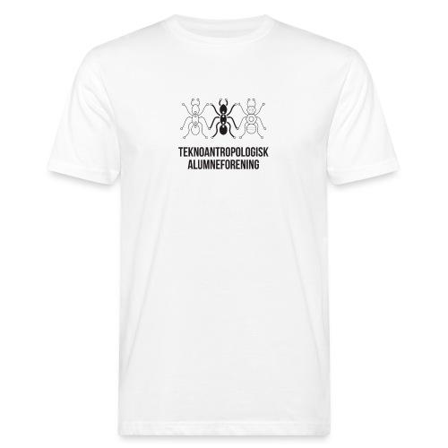 Teknoantropologisk Støtte T-shirt figur syet - Organic mænd