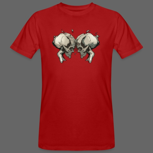 MHF_Logo_Loose-Skulls - Men's Organic T-Shirt
