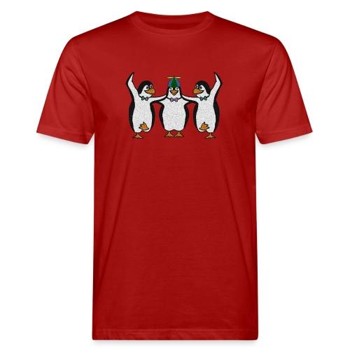 Penguin Trio - Men's Organic T-Shirt
