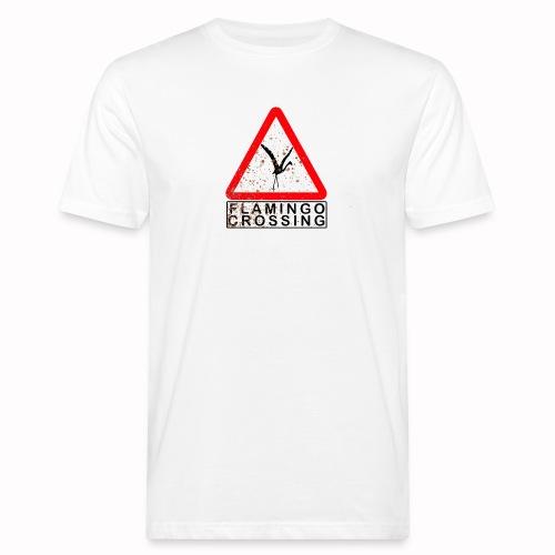 flamingo crossing - Männer Bio-T-Shirt
