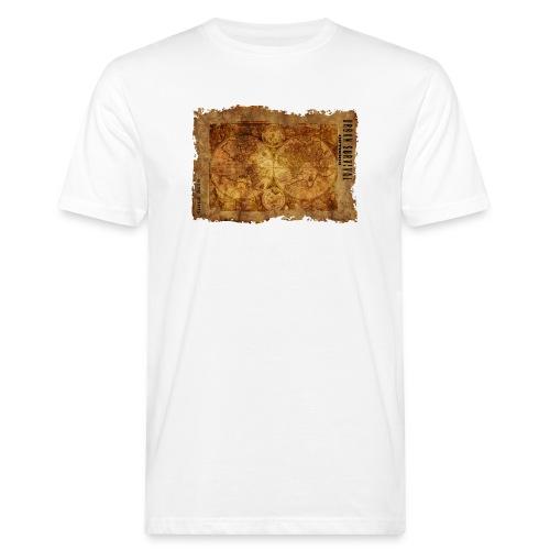 map of the world 2241469 1920 - Männer Bio-T-Shirt