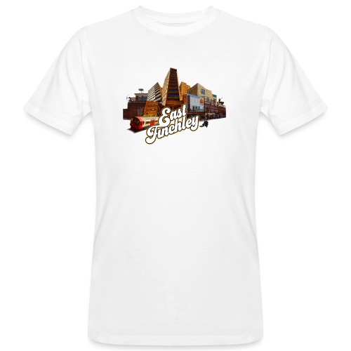 Arjun & East Finchley - Men's Organic T-Shirt