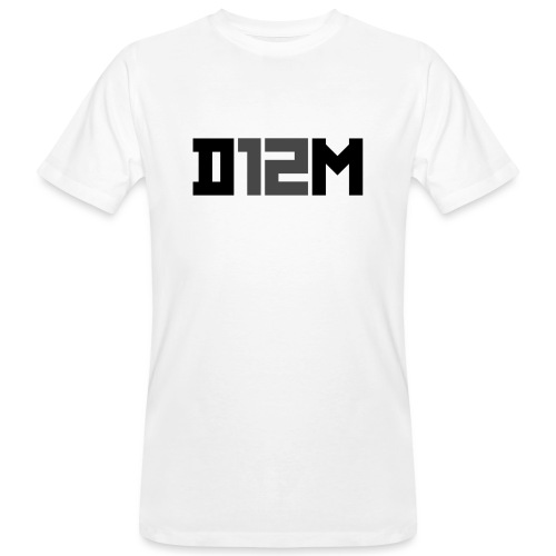 D12M: SHORT BLACK - Mannen Bio-T-shirt