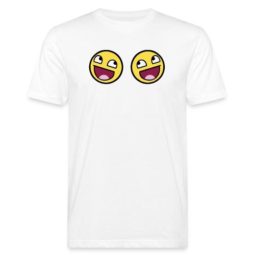 Boxers lolface 300 fixed gif - Men's Organic T-Shirt