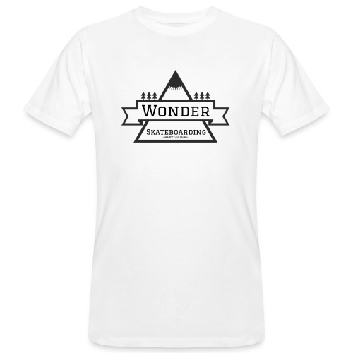 Wonder T-shirt: mountain logo - Organic mænd