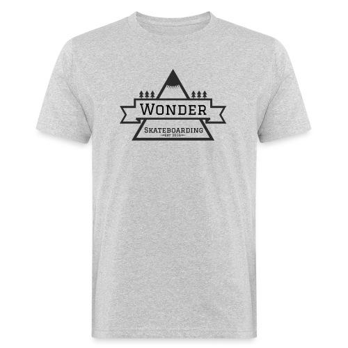 Wonder T-shirt: mountain logo - Organic mænd