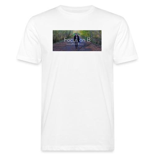 focus on b - T-shirt ecologica da uomo