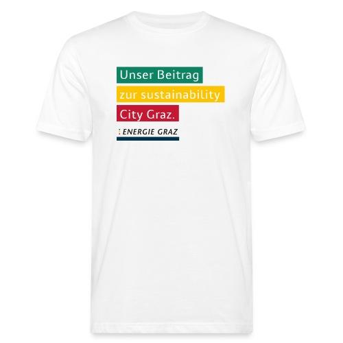 Energie Graz Vision - Männer Bio-T-Shirt