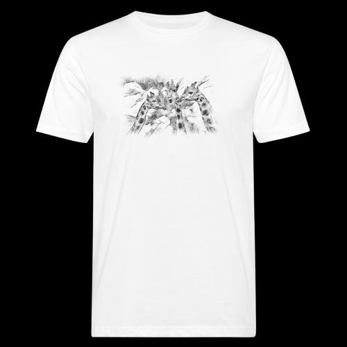 les girafes bavardes - T-shirt bio Homme