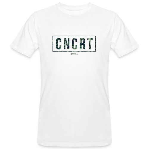 CNCRT white men sweater (Plant Print) - Mannen Bio-T-shirt