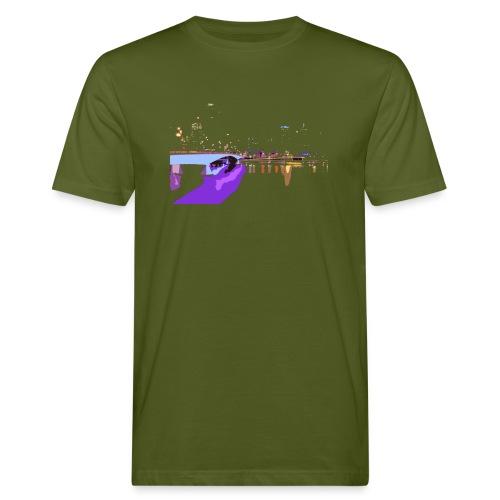 CITY NIGHT - T-shirt ecologica da uomo