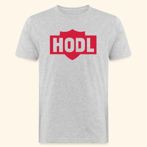 HODL TO THE MOON - Miesten luonnonmukainen t-paita