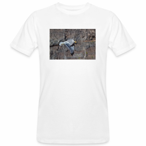 Möwe - Männer Bio-T-Shirt