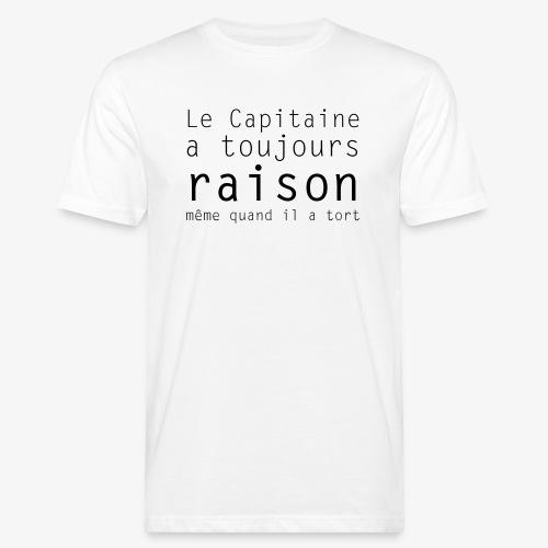 le capitaine - T-shirt bio Homme