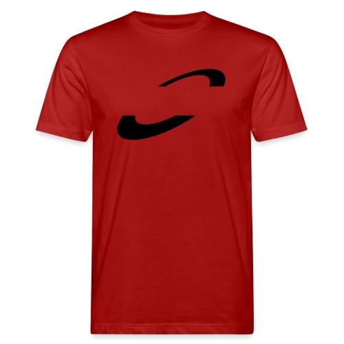 Planet Cycling Icon Black - Men's Organic T-Shirt