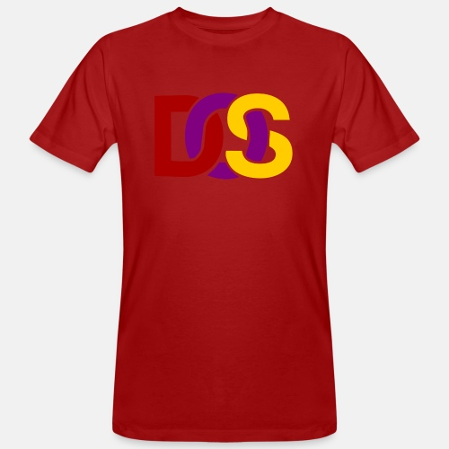 Retro MS DOS Logo - Men's Organic T-Shirt