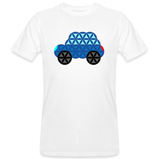 The Car Of Life - M01, Sacred Shapes, Blue/286