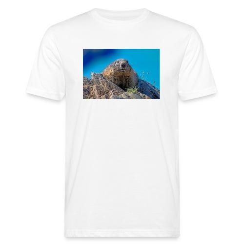 Murmeltier - Männer Bio-T-Shirt