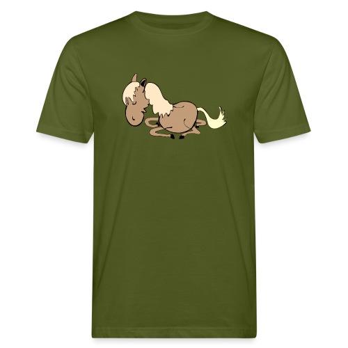 dpferd10 - Männer Bio-T-Shirt