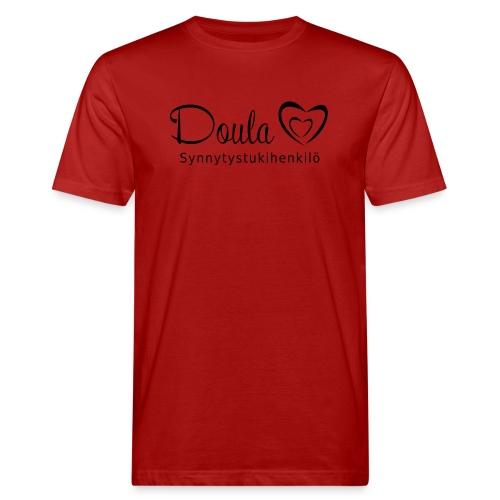 doula sydämet synnytystukihenkilö - Miesten luonnonmukainen t-paita