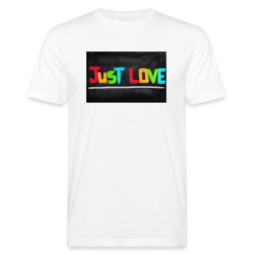 Just love tasse - T-shirt bio Homme