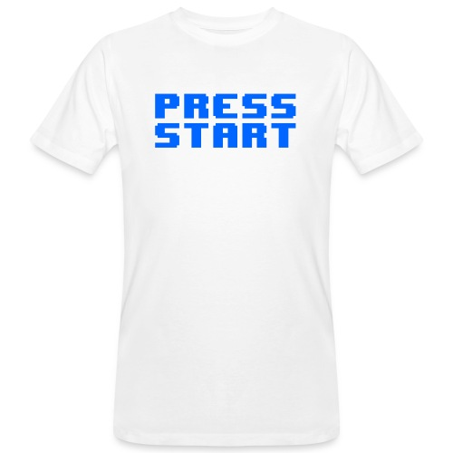 Press Start - T-shirt ecologica da uomo