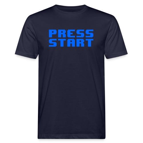 Press Start - T-shirt ecologica da uomo