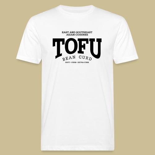 Tofu (black) - Männer Bio-T-Shirt