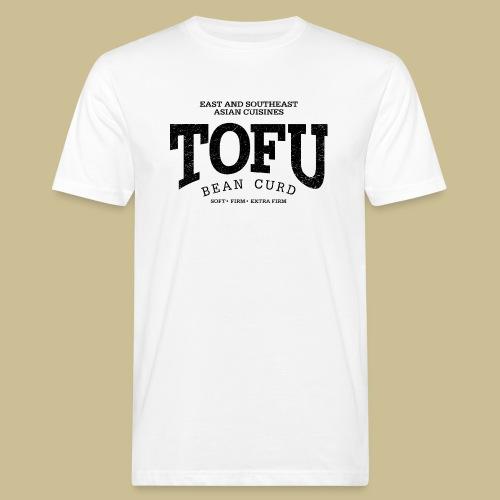 Tofu (black oldstyle) - Männer Bio-T-Shirt