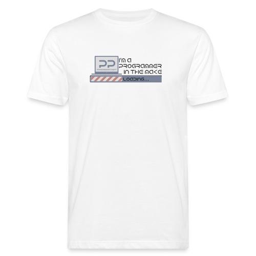 I m a programmer in the make - Mannen Bio-T-shirt
