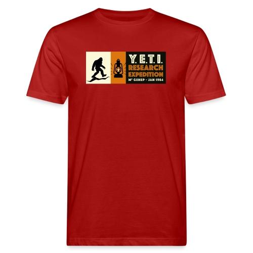 A la recherche du Yeti - T-shirt bio Homme