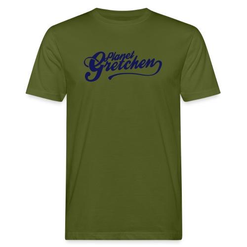 Planet Gretchen svart - Ekologisk T-shirt herr