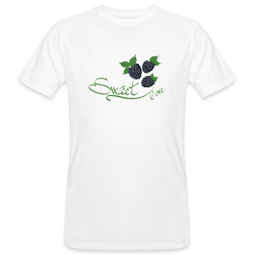 Sweet love more - T-shirt ecologica da uomo