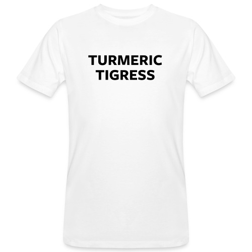 Turmeric Tigress - Men's Organic T-Shirt