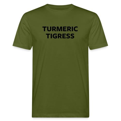 Turmeric Tigress - Men's Organic T-Shirt