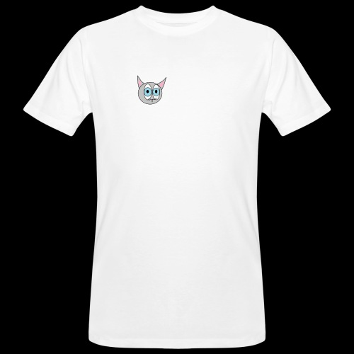 Katze GMBH Logo - Männer Bio-T-Shirt