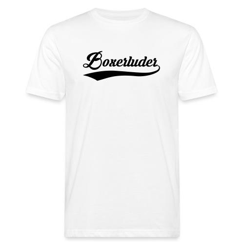 Motorrad Fahrer Shirt Boxerluder - Männer Bio-T-Shirt