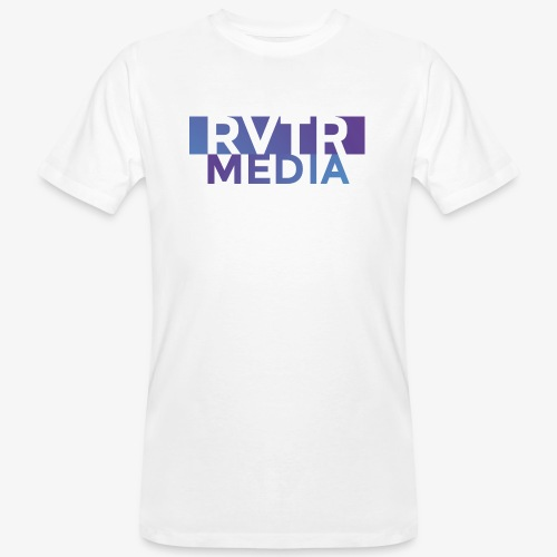 RVTR media NEW Design - Männer Bio-T-Shirt