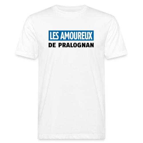 les amoureux de pralognan texte - T-shirt bio Homme